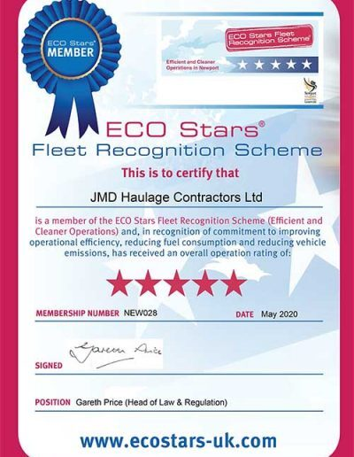 ECO Stars Awards - Newport