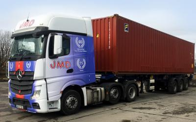 JMD Haulage tick all the boxes with first, post-Brexit trailers from Krone